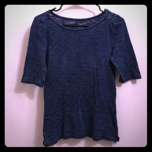 J Crew Painter Tee Size Small Blue